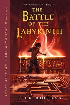 Rick Riordan - Percy Jackson and the Olympians, #4: The Battle Of The Labyrinth (2008)
