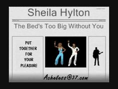 Sheila Hylton -The Bed's Too Big Without You Reggae Music Videos, Without You, You Youtube, Sisters, Train, Rock, Indie, Alternative, Blue