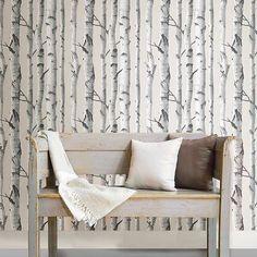 Wallpops Birch Tree Peel and Stick Wallpaper