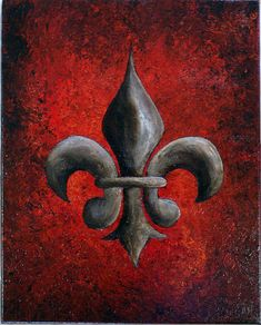 Fleur de Lis by AiwaArt, via Flickr