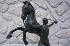 MAX LE VERRIER Bronze Figurine Sculpture 23 kg appel by Charles appel by Charles   eBay
