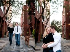 engagement session Old City, Philadelphia by Simmone von Sydney Photography