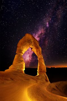 Milky Way from Arches National Park, Utah