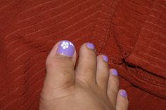 Simple Nail Art Designs For Toes