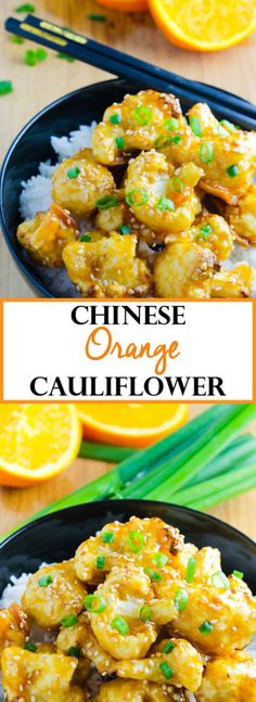 Chinese Orange Cauliflower