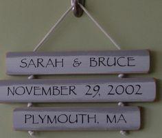 Cute anniversary or wedding gift idea
