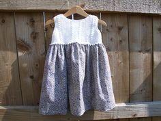 Girl's Liberty Print Dress