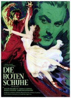 The Red Shoes poster.