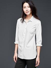 Tailored poplin shirt.  #Gap.