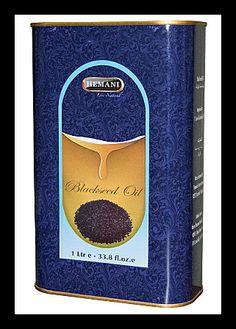 Hemani Black Seed Oil 1 Litre Litre) by Hemani Nigella Sativa Oil, Herbal Store, Black Seed, Seed Oil, Herbalism, Cancer, Herbs, Health, Free Shipping