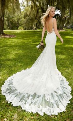 Mermaid Wedding Dress with Long Tail . 25 Mermaid Wedding Dress with Long Tail . Halfpenny London the Air that We Breath 2019 Bridal 2016 Wedding Dresses, Wedding Attire, Bridal Dresses, Wedding Dresses Fit And Flare, Backless Wedding Dresses, Wedding Dress Low Back, Prom Dresses, Evening Dresses, Lace Trumpet Wedding Dress