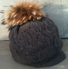 one of a big selection of pom pom hats