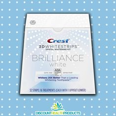 Think your whitening toothpaste is giving you the whitest smile you can get? Think again. 🦷 Crest Whitestrips Brilliance White whitens teeth better than a leading whitening toothpaste! White Smile, Whitening Kit, White Teeth, Crest Whitestrips, Dental, Stains, 3d, Modern, Beauty