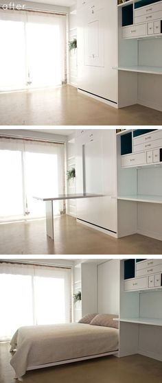 9 + Awesome Space-Saving Furniture Designs Space-Saving Furniture space-saving design by General Assembly – minimalism, minimalist living space, small space design, space-saving furniture, multifunctional furniture Tiny House Furniture, Space Saving Furniture, Home Furniture, Furniture Design, Smart Furniture, Multifunctional Furniture Small Spaces, Bedroom Furniture, Furniture Ideas, Furniture Stores