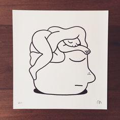 In My Mind Original Artwork / muretz