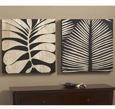 Large Tropical Leaf Wall Panels