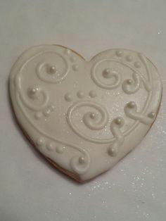 Wedding sugar cookie