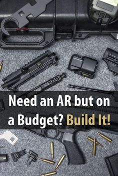 Many people would love to own an AR style rifle, but they simply can't afford it. Sound like you? This guy has the solution: build your own!