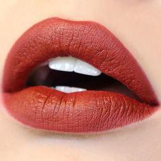 Poison red brown Lippie Stix swatch
