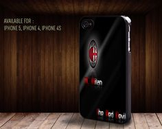 iphone case061 Italian football club AC Milan by rainbowcaseshop, $15.99
