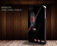 iphone case061 Italian football club AC Milan by rainbowcaseshop, $15.99
