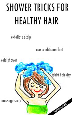 5 Shower Tricks for Healthy hair