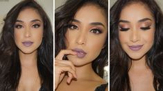 Fall Mauve Glam Tutorial  w/ ABH Subculture Palette | Dulce Candy - YouTube