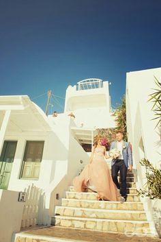 Santorini wedding, AS