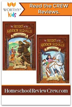 Secret of the Hidden Scrolls Books 5 & 6 {Review} - Schooling with Grace