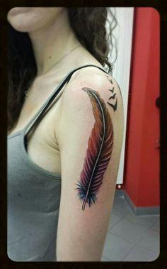 Piuma tattoo