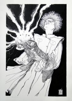 Michael Zulli Daniel Comic Art