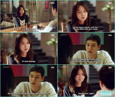 na ri told jung won she saw hwa shin with some other women and got jealous  - Jealousy Incarnate - Episode 19 (Eng sub)