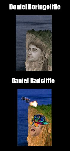 I'm shore you've seen this one | Danielle Boringcliffe vs. Daniel Radcliffe