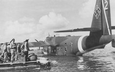 Luftwaffe, Amphibious Aircraft, Flying Boat, Dieselpunk, Military Aircraft, World War Two, Great Photos, Wwii, Fighter Jets