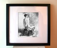 Print of Charcoal Drawing  Act by DavidsLittlethings on Etsy