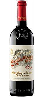 CASTILLO DE YGAY, 2005. Vino tinto de Rioja .  89% Tempranillo, 11% Mazuelo.