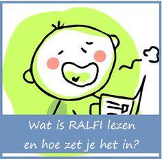 RALFI lezen - KlasvanjufLinda.nl - vol met leuke lesideeën en lesidee