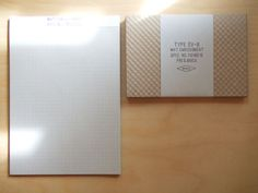 Check Embossed mail set by P&C