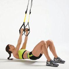TRX Workout Plan: 7 Suspension Training Exercises to Tone Your Whole Body | Shape Magazine