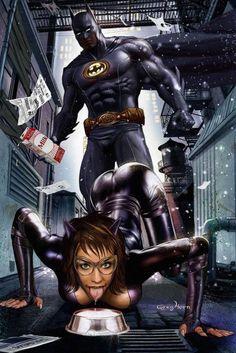 Batman & Cat Woman