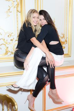 Party Down in Paris - Gigi Hadid and Kendall Jenner