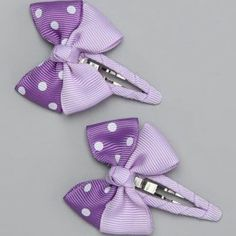 Another great find on Purple Snap Clip Set by Bubbly Bows Hair Ribbons, Ribbon Hair, Ribbon Bows, Making Hair Bows, Diy Hair Bows, Hair Barrettes, Headbands, Hair Bow Tutorial, Baby Hair Clips