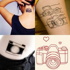 I know I want a camera tattoo- just not sure what style I want.