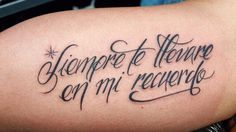 frases para tatuajes en español - Buscar con Google