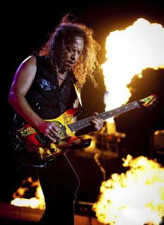 Kirk Hammett - Metallica, Exodus, Spastik Children