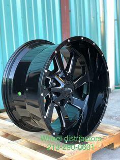 4- 22x12 Savage SA18 5x5/5x5.5 -45 Black Milled Wheels Rims  · $1,100.00 24 Rims, Savage, Wheels, Black, Black People