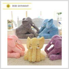 Cheap plush toys, Buy Quality elephant plush toy directly from China cushion doll Suppliers: 40 cm Baby Crib Elephant Plush Toy Colors Option Stuffed Elephant Pillow Newborn Cushion Doll Bedding For Adults Kids Toys Elephant Plush Pillow, Elephant Baby Bedding, Elephant Cushion, Elephant Theme, Cartoon Elephant, Plush Dolls, Doll Toys, Pet Toys