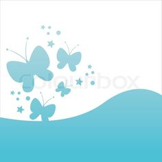 Stock vector of 'Stylish butterfly background'