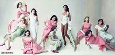Emily Blunt, Amy Adams, Jessica Biel, Anne Hathaway, Alice Braga, Ellen Page, Zoе Saldana, Elizabeth Banks, Ginnifer Goodwin and America Ferrera