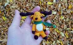 Amigurumi moose crochet pattern free